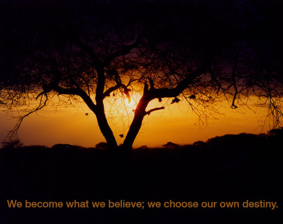 We Become What We Believe